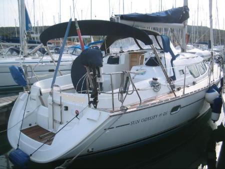 Jeanneau Sun Odyssey 40 Ds For Sale Used Of 2003 Sail Boat Jeanneau